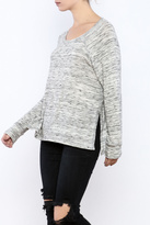 Michael Lauren Side Slit Sweater
