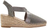 Elise Pewter Shimmer Sandal