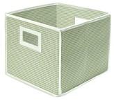 Badger Basket Fabric Cube - Gingham