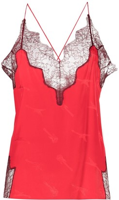Zadig & Voltaire Lace Camisole Top