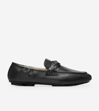 Cole Haan Odette Driverina Braided Flat
