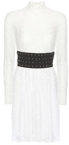 Giamba Crystal-embellished Lace Dress