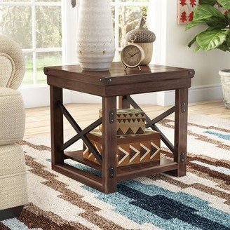 Laurel Foundry Modern Farmhouse Gladstone Sled End Table with Storage