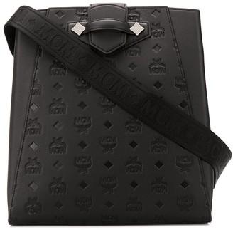 MCM Logo-Pattern Shoulder Bag