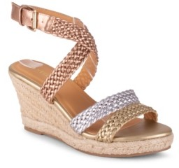 Wanted Dior Strappy Wedge Sandal Women's Shoes