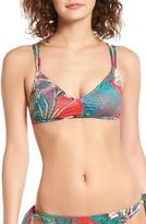 Roxy Women's Cuba Strappy Bikini Top
