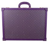 Bally Printed Leather Hard-Shell Suitcase