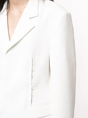 Dion Lee Single-Breasted Blazer