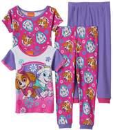 Toddler Girl Paw Patrol Purple 4-pc. Pajama Set