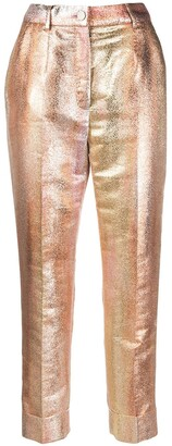 Dolce & Gabbana Degrade-Effect Cropped Trousers