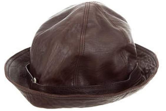 9b76b039e Logo Bucket Hat Brown Logo Bucket Hat