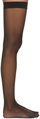 Wolford Black Individual 10 Stocking Socks