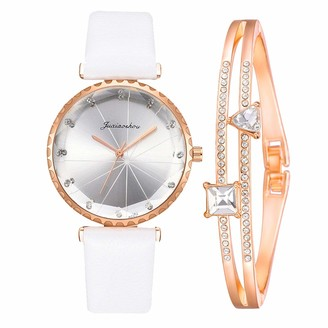 LMDGO Sleek Minimalist Fashion with Strap Dial Women's Quartz Watch Gift Watch