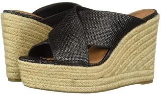 Aerosoles Martha Stewart Woodside (Black Fabric) Women's Shoes
