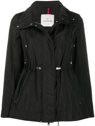 Moncler Drawstring Waist Parka Coat