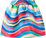 RED Valentino striped skirt - women - Polyester - 38