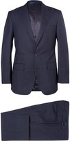 Thom Sweeney - Navy Weighhouse Wool Suit
