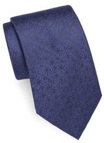 John Varvatos Floral Italian Silk Tie