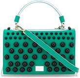 Emilio Pucci embellished colour-block satchel