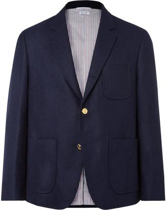 Thom Browne Unstructured Shetland Wool Blazer