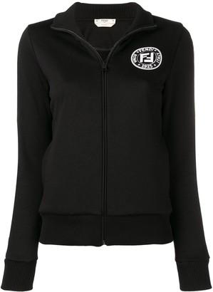 Fendi Cotton Jersey Sweatshirt
