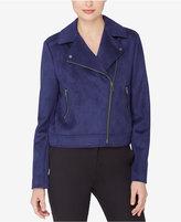 Catherine Malandrino Catherine Faux-Suede Moto Jacket