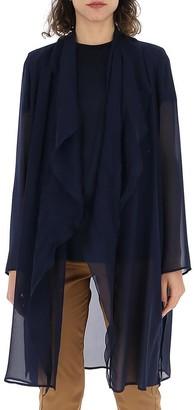 Max Mara Sheer Gathered Cardigan
