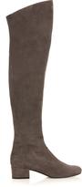 Saint Laurent Babies over-the-knee suede boots