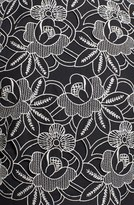 Tibi Embroidered Crop Top