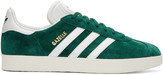 adidas Green Suede Gazelle OG Sneakers