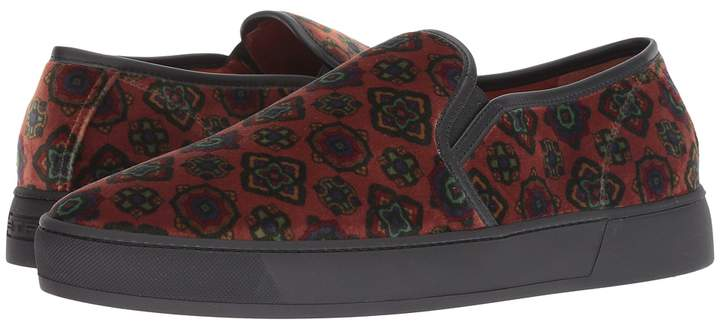 Etro Carpet Print Slip-On Sneaker Men's Shoes