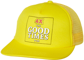The Critical Slide Society Goodtimes Trucker Cap Yellow