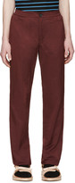 Opening Ceremony Red Elasticized Waistband Trousers