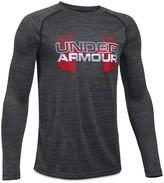 Under Armour Boys' Slubbed Big Logo Tee - Sizes S-XL