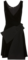 Emporio Armani Sleeveless Velvet Dress
