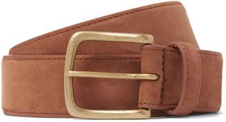 Anderson & Sheppard 3.5cm Suede Belt