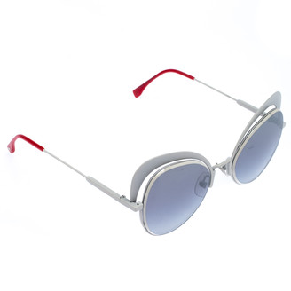 Fendi White/Black FF 0247/S Butterfly Sunglasses