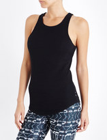 The Upside Eden ribbed cotton-jersey sleeveless top
