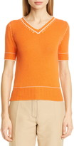 Marni Contrast Detail Cashmere Sweater