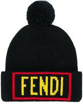 Fendi reversible knit hat