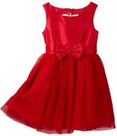 Zunie Shantung Cutout Heart Dress (Little Girls & Big Girls)