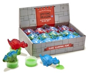 Twos Company Two's Company Spitting Dragons 36 Pc Dragon with Glow-in-Dark Slime