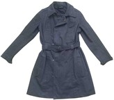 Isabel Marant Blue Cotton Trench coats