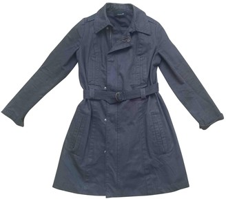 Isabel Marant Blue Cotton Trench Coat for Women