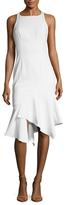 Jay Godfrey Pitt Asymmetrical Sheath Dress