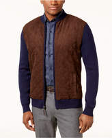 Tasso Elba Men's Quilted-Front Baseball Jacket, Created for Macy's