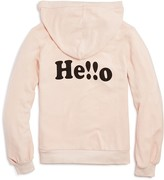 Wildfox Couture Girls' Hello Hoodie