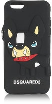 DSQUARED2 Black Silicone iPhone 6 Cover w/Dog