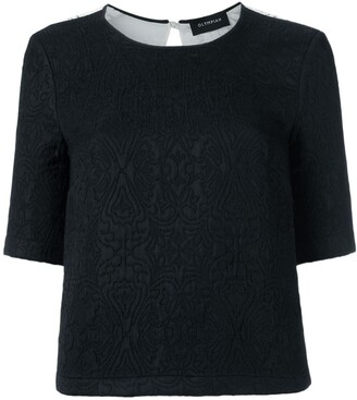 Olympiah Lace Panelled Top
