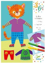 Djeco Les habits d'Elliot & Zoe Magic Felt Pens